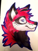 Wolfy (request) by Kha0s1