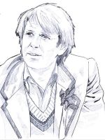 Fifth Doctor by muffin-wrangler