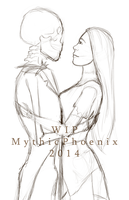 Simply Meant to Be -Process GIF- by MythicPhoenix