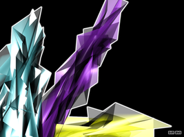 Abstract Crystals by Dimworm