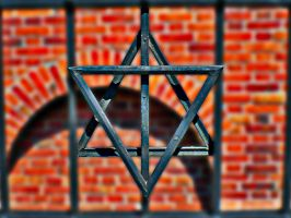 Krakow Ghetto Star of David by friartuck40