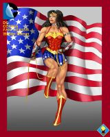fan design wonder woman by supersaiyan2scooby