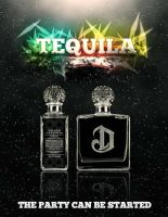 Tequila Party Poster by Yurik86