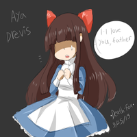 [Mad Father] Aya, Drevis Fan Art by KurisuXGrellSutcliff