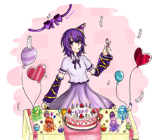 Arme~ B-day by Miku-luv