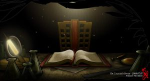 X: Caligari's Study by dthought