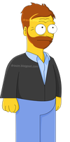Dr.House Simpsons by dilelis
