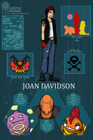 PDL: Joan Davidson by andalsopineapples