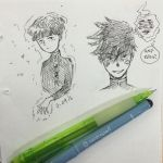 Mob Psycho doodle by Lillie1