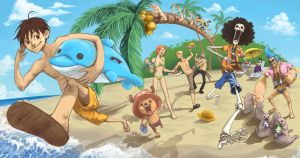 One Piece Summer 2010 by flominowa