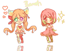 Meep Chibis by Bamohcci