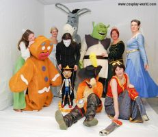 Groupe Shrek by Shoko-Cosplay