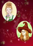 Tilly and Mordusa by Sweetrosali