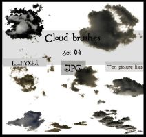 Cloud brushes - set 04 - JPG by LunaNYXstock