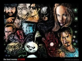 The Best Movies of 2008-Colour by karthik82