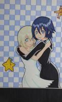 Xion and Namine by Skialdi