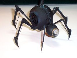 Clockwork Spider-Bomb Front by cazouillette