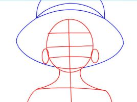 How to draw Monkey D. Luffy of One Peice Part 1 by SketchHeroes