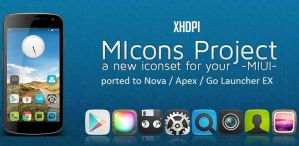 MIcons HD (Nova Apex Go Theme) by bagarwa