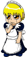 Zatch Bell Maid by Nukeleer