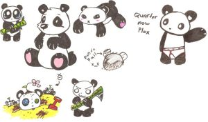 Pandas by Maplemay