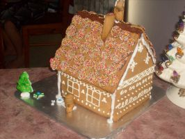 Gingerbread House (5) by jess13795