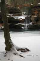 Upper Falls January 2010 by TRBPhotographyLLC