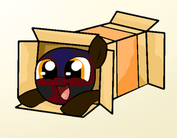 Skull Pony In A Box by Macgrubor