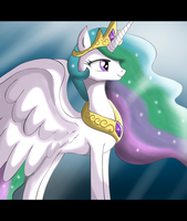 .:Princess Celestia:. by The-Butch-X
