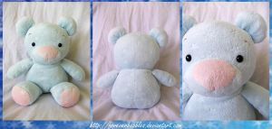 Starry Teddy by ForeverBubbles