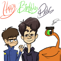 Happy Birthday, Paul! by happydoodle