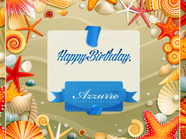 Azzurro Homes Birthday Card by ValentineDemostene