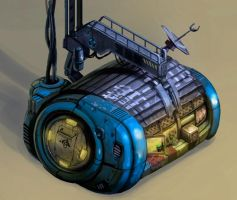 Capsule House by SC4V3NG3R