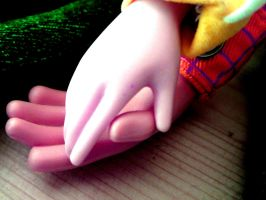 Holding Hands by toystoryfanatic
