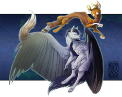 Flitter Flight [Commission] by Aevix