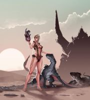 Mother of dragons by Coffeeater