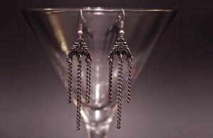 earrings - chains by Sizhiven