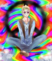 APH: Hippy by HalloweenBloodyQueen