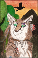 ACEO-AT Savannah by RedWolfAkasora
