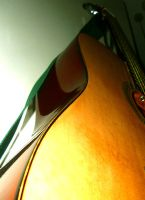 Slanted guitar. by richardnorth