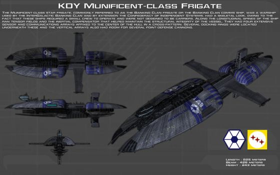 Munificent-class frigate ortho [New] by unusualsuspex
