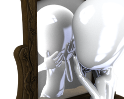 Man in the Mirror by madetobeunique