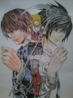 Death Note by edcarrascal