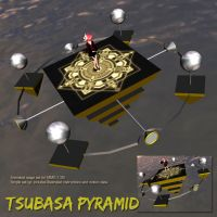 MMD Tsubasa Pyramid Stage by Trackdancer