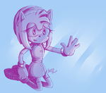 Sonic Boom- Amy Sketch 01 by xXSunny-BlueXx