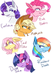Mane 63 by AjueTheMod