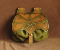 Elven small bag by Fantasy-Craft
