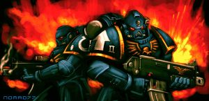Space Marines by Nomad-77