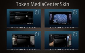Token MediaCenter Skin by Mr-Ragnarok