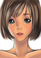 Freckles by Kaito-Tan